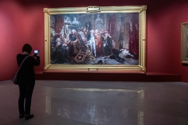 """Dzieła najwybitniejszych artystów można oglądać w ramach wystawy """"Polska. Siła obrazu"""" w Muzeum Narodowym w Poznaniu."""