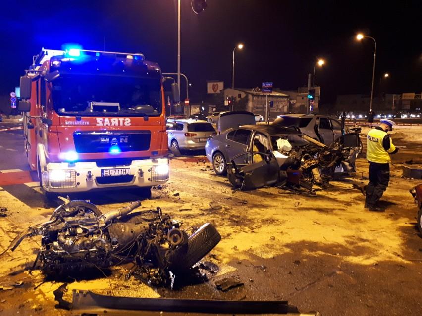 Dwie osoby ciężko ranne, trzy w stanie niezagrażającym...