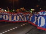 Strajk na Śląsku: Marsz w Bytomiu. Górnicy, dzieci i kibice [NOWE ZDJĘCIA i WIDEO] Strajk w Bytomiu
