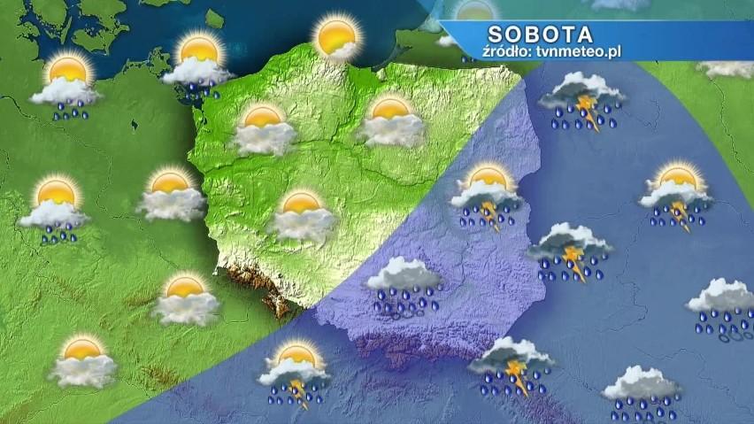 Koniec tropikalnego lata. Nadciąga załamanie pogody. Będzie...