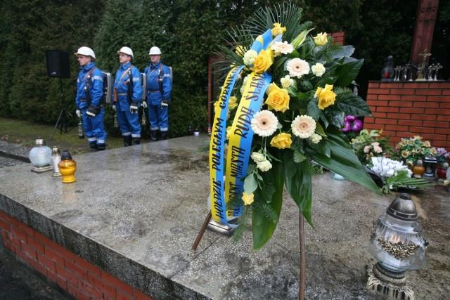 Pomnik pamięci ofiar katastrofy w kopalni Halemba