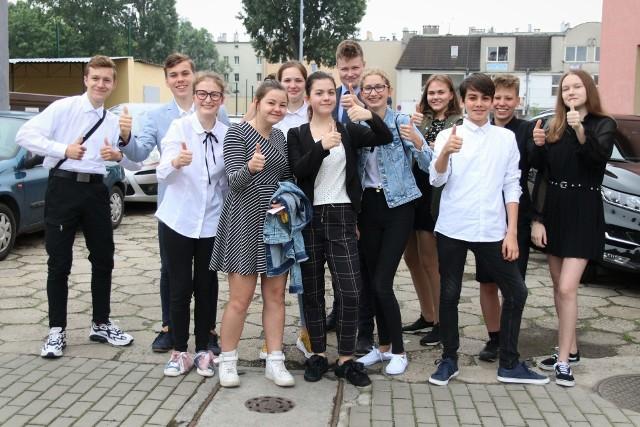 Egzamin ósmoklasisty 2020 w Opolu.
