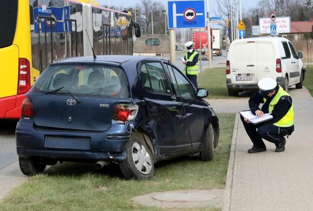 Wypadek na ulicy Granicznej