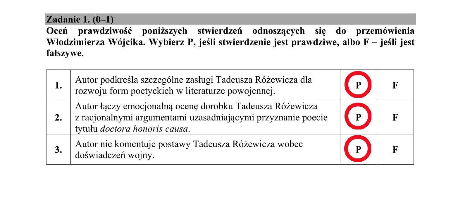 Matura 2018 Polski Odpowiedzi Arkusze Cke Rozwiązane