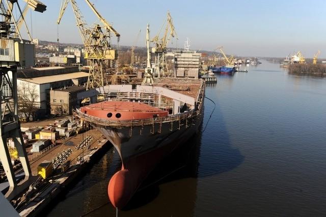 Jest nadzieja, że w Szczecinie będą nadal budowane statki.