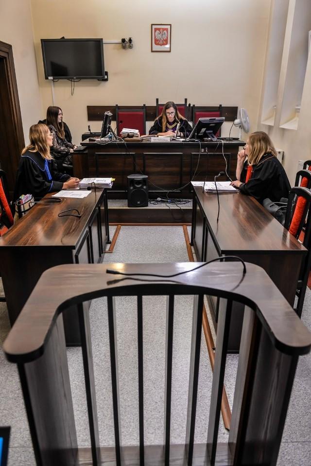 Sala sądowa sądu I instancji w tej sprawie. Zdjęcie archiwalne