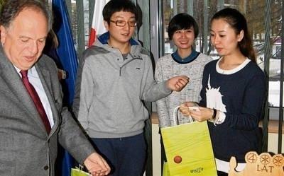 Chińczycy odwiedzili m.in. burmistrza Zakopanego FOT. TOMASZ MATEUSIAK