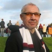 Chociaż Andrzej Janicki mieszka teraz w Białymstoku, można go spotkać prawie na każdym meczu Mazura w Ełku