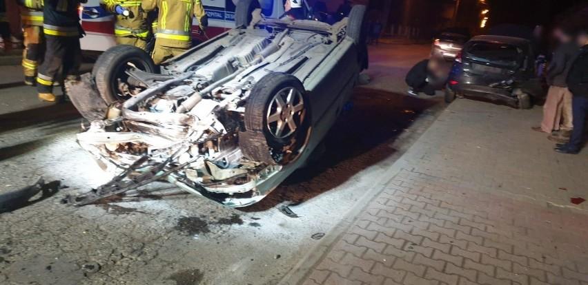 Poszukiwania kierowcy, który spowodował wypadek w Oporówku,...
