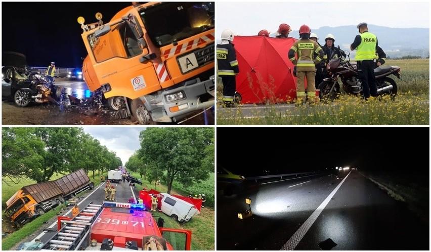 Komenda Główna Policji opublikowała mapę wypadków drogowych...