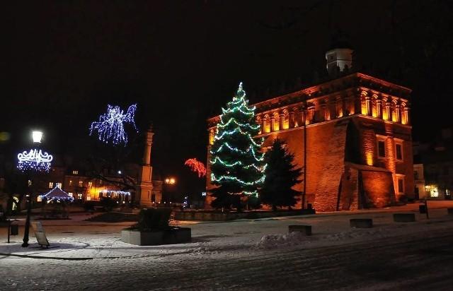 Tak Rynek Starego Miasta w Sandomierzu prezentował się rok temu.