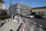 Wrocław: Koniec remontu na placu Kościuszki? Nie, to dopiero połowa prac (ZDJĘCIA)