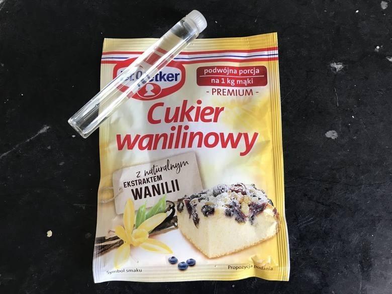 Cukier Wanilinowy...