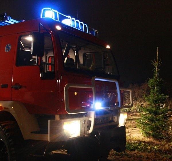 Świąteczny nastrój przerwał zatrzaśnięty zamek. Strażacy stanęli jednak na wysokości zadania.