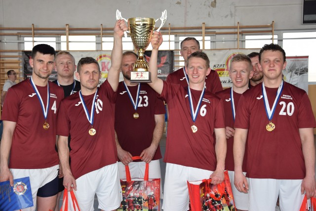 Fotorelacja z  X Ogólnopolski Turniej Halowej Piłki Nożnej drużyn OSP.