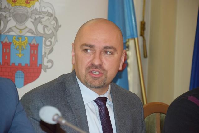 Burmistrz Prudnika Grzegorz Zawiślak