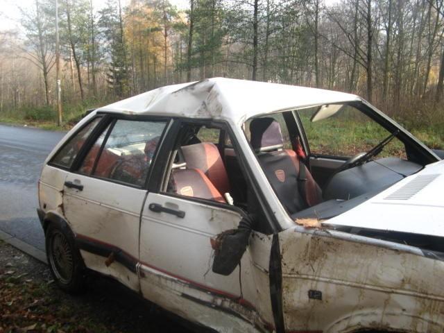 Wypadek w Świeradowie-Zdroju