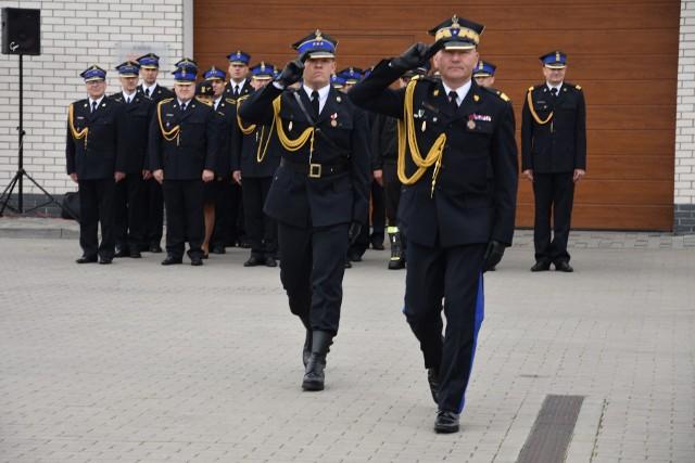O nowych wozach dla strażaków OSP nadbrygadier Janusz Halak  poinformował podczas powiatowych obchodów Dnia Strażaka w Nakle