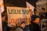 Sejm przyjął ustawę o zmianach w sądach. Demonstracja w Gdańsku w obronie niezawisłości sędziowskiej odbyła się w czwartek 23.01.2020