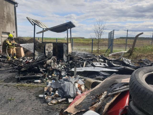 Pożar zakładu motoryzacyjnego w miejscowości Topole w powiecie chojnickim. Z ogniem walczyło 10 zastępów straży pożarnej.Smaki Kujaw i Pomorza sezon 2 odcinek 9