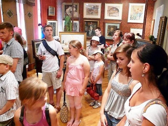 Uczestnicy wycieczki podczas zwiedzania