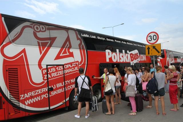 Dzięki rezerwacji miejsc PolskiBus chce uniknąć walki o miejsca w autokarze