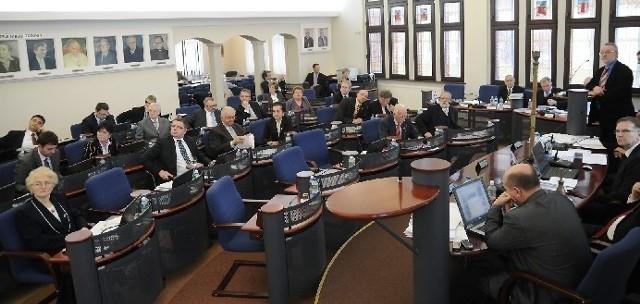 Ostatnia sesja rady piątej kadencji