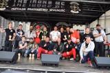Pokazy Armwrestlingu budziły szczery podziw wśród widzów i uczestników Motoserca 2019 pod świebodzińskim Ratuszem