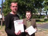 Opozycja nie chce wiatraków w Kluczborku [wideo]