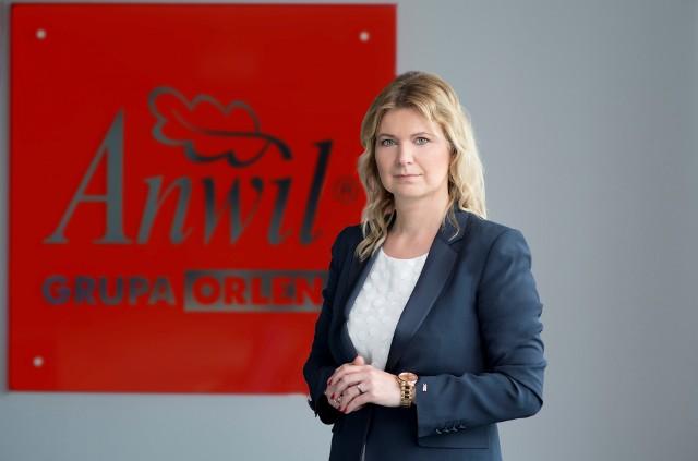 Agnieszka Żyro, prezes Zarządu ANWIL SA