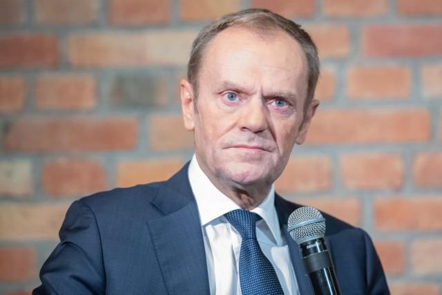 - Nie chcę przekonywać ani moich bliskich, ani nikogo w Polsce do czegoś, co wydaje mi się jednak obciążone pewnym ryzykiem - stwierdził Donald Tusk