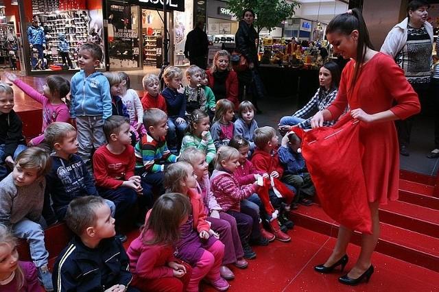 Rozpoczęcie sezonu świątecznego w galerii Echo w Kielcach