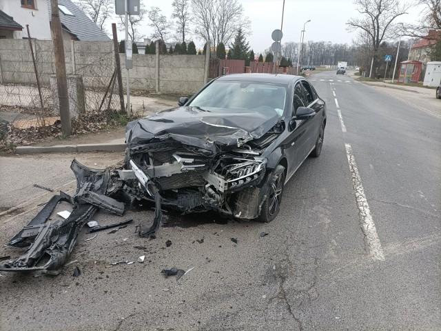 Wypadek w Pietrzykowicach. Uwaga na utrudnienia