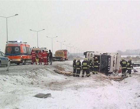 W wypadku ranne zostały dwie osoby.