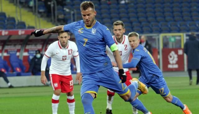 W listopadzie Ukraina przegrała z Polską 0:2