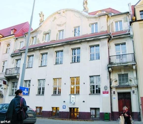 Kamienica przy ul. Sienkiewicza 19.