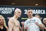 KnockOut Boxing Night 6 w Łomży. Diablo i Jur spotkali się na ceremonii ważenia (zdjęcia)