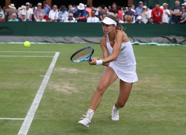 Magda Linette dobrze się czuje w tym roku na londyńskiej trawie. W turnieju Roland Garros w Paryżu pokonała Australijkę Ashleigh Barty, tym razem poradziła sobie z inną zawodniczką pierwsze dziesiątki rankingu WTA, czyli z Ukrainką Eliną Switoliną