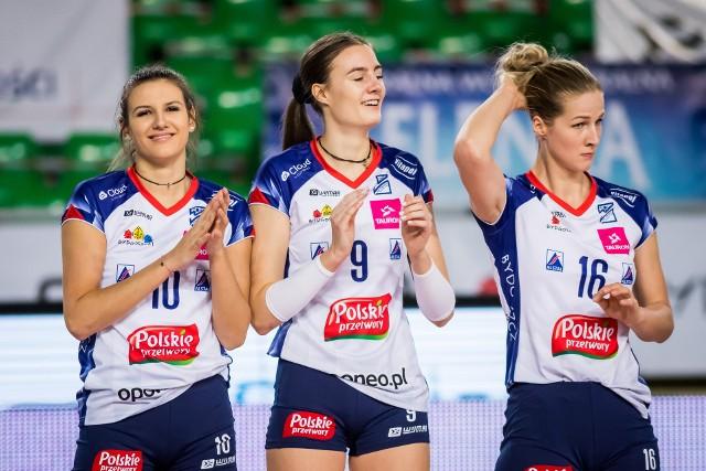 Paulina Reiter (w środku) ma być jedną z najpoważniejszych strzelb w drużynie Marcina Patyka w nadchodzącym sezonie