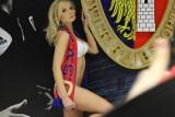 Seksowne modelki na stadionie Piasta Gliwice ZDJĘCIA, WIDEO Gorąca sesja w środku zimy do kalendarza kibiców. Pamiętacie?