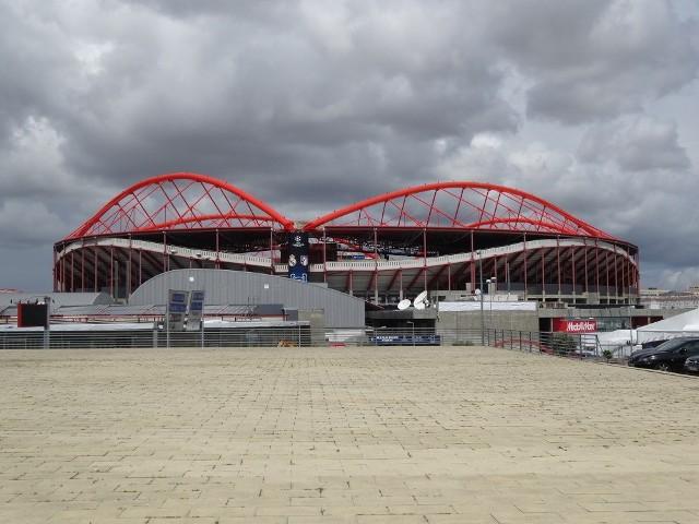 Droga do Lizbony - Estadio da Luz
