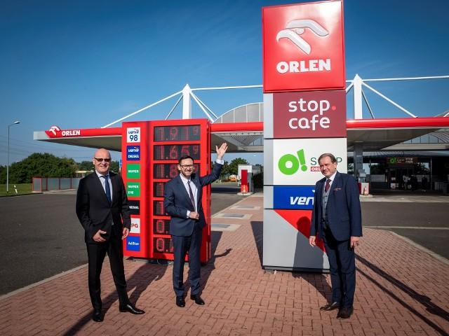 Na niemieckich stacjach należących do PKN ORLEN sukcesywnie pojawia się coraz więcej polskich produktów.