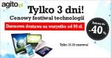 Nie przegap: 3-dniowe święto technologii w Agito.pl