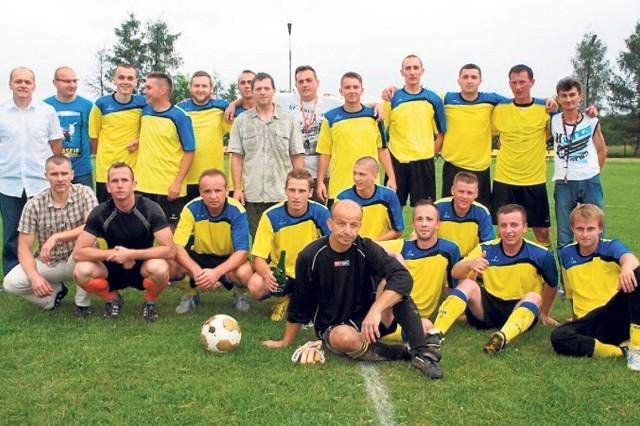 Piłkarze z Jasionki zgłosili się do naszej zabawy jako pierwsi.