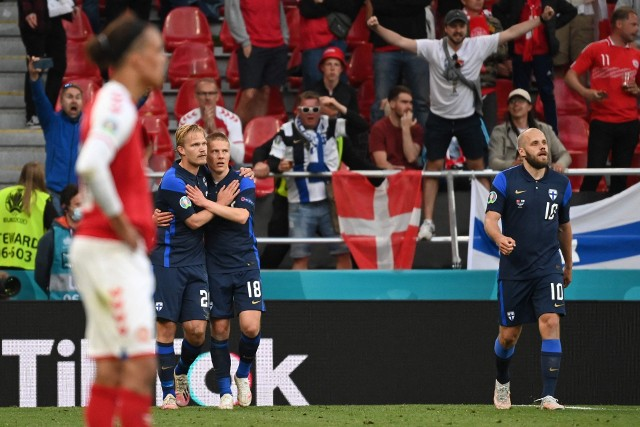 Euro 2020: Dania - Finlandia 0:1