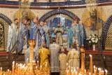 """Święto cudownej ikony Bogurodzicy """"Nieoczekiwana radość""""  w soborze Św. Trójcy w Hajnówce (zdjęcia)"""