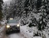 Śnieg na Dolnym Śląsku. Zrobiło się biało. Spadnie nawet 50 cm!  [ZOBACZ]