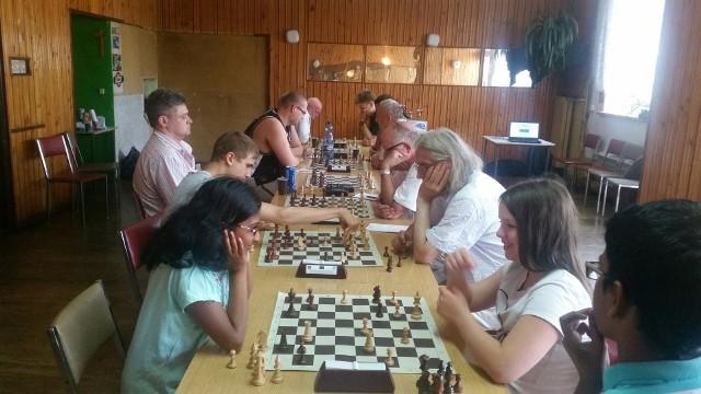 Turniej o puchar burmistrza Skwierzyny rozegrany był w kawiarni OSiR.