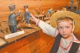 Wystawa prac Mikołaja Tarasiuka: Życie rzeźbi w drewnie