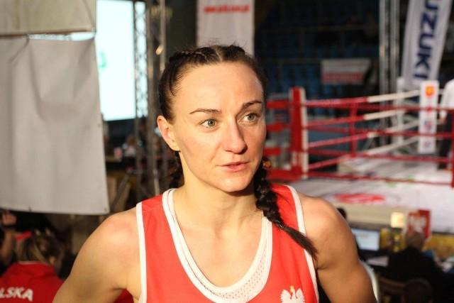 W V Memoriale Leszka Drogosza Sandra Drabik po raz ostatni wystąpiła w boksie. Teraz wraca do kick boxingu.